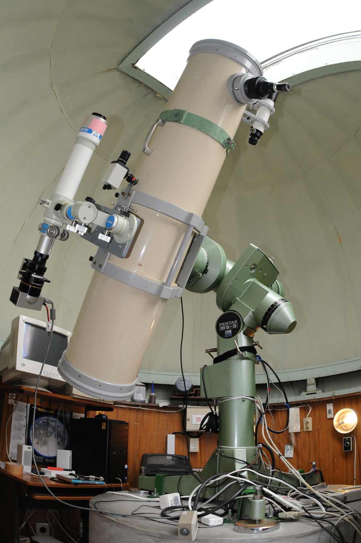 天文台の歴史:なよろ市立天文台 きたすばる